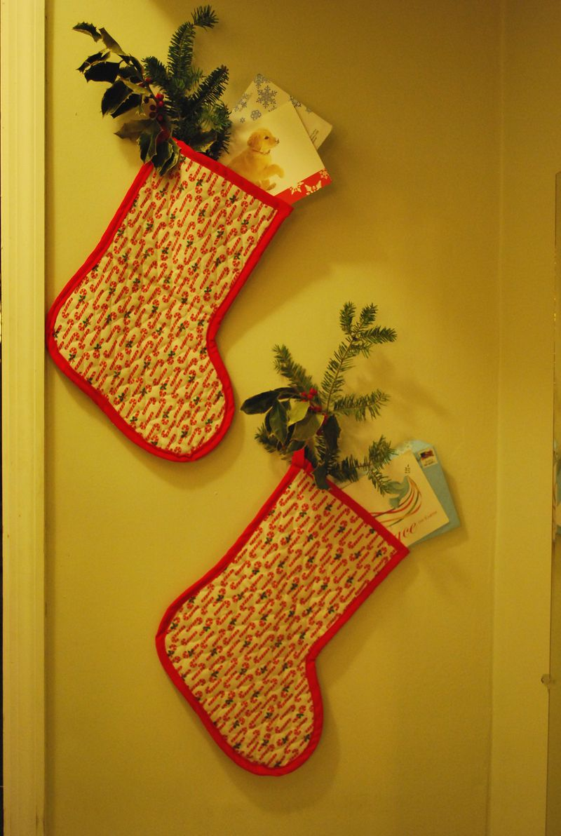 Stockings in nook